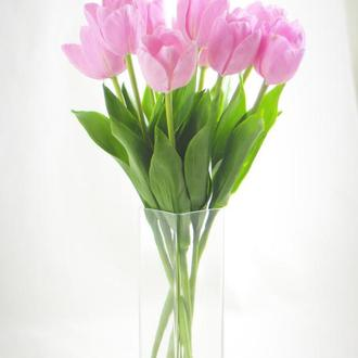 Букет тюльпанов из полимерной глины.
