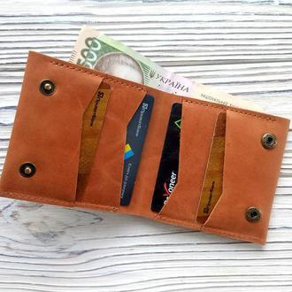 Женские кошельки, маленькие кошельки из кожи, подарки девушке от мастерской Kozhemyaka