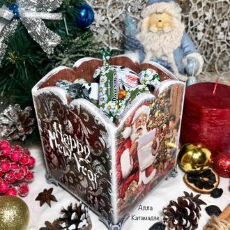 Короб для сладостей «Новогодний»