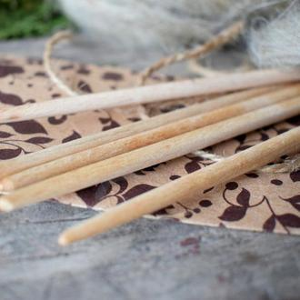 Спиці дерев'яні / Спиці для в' язання шкарпеток