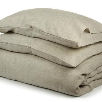 """Комплект постельного белья из 100% натурального небеленого льна """"Первозданный"""""""