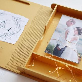 Коробка для хранения фото