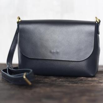 Женская кожаная сумка The ONE через плечо