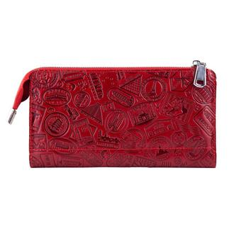 "Кошелек HiArt W-01  Crystal Red ""Let's Go Travel"""