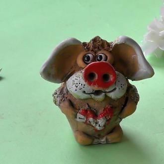 Фигурка Свинка с любовью