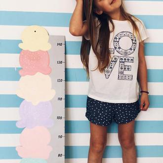 Ростомер деревянный Мороженое