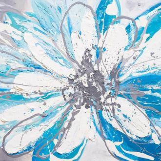 абстракция. цветок.