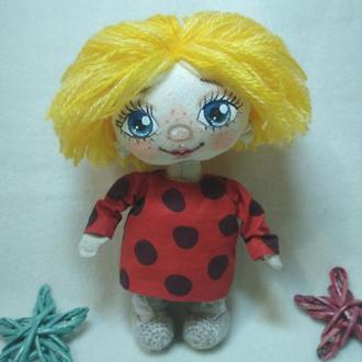 Текстильная кукла домовенок Кузя