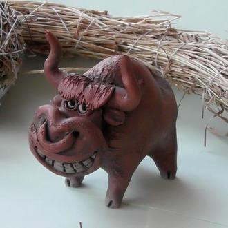 Бик Статуетку бика сувенір у рік бика