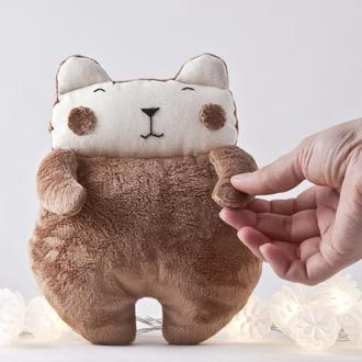 Плюшевый мишка, Мягкий и пушистый мишка игрушка