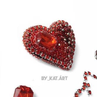 Брошка «Серце»