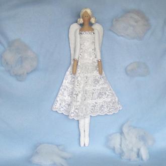 Кукла в стиле Тильда  Ангел 48см