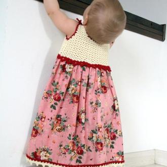 """Лляна сукня """"Поляна"""""""