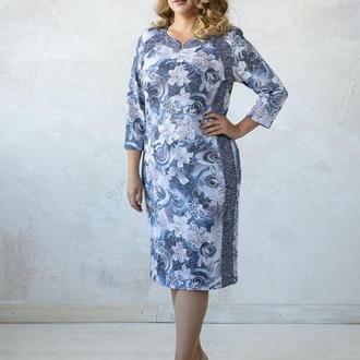 """Очень нежное платье """"Марта"""" от укр дизайнера. Размеры 50-62"""