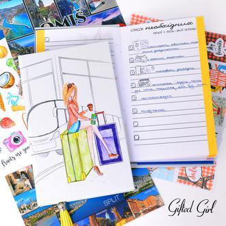 Travel book/ Блокнот для записей о путешествии