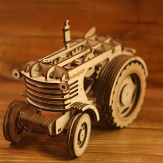 Механічний 3D-пазл «Трактор»