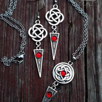 След легенды - набор украшений в стиле кельтика, этника, и фэнтези (в наличии)
