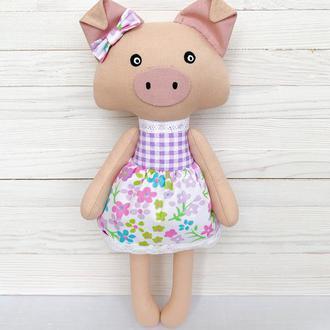 Ніжна свинка - символ 2019 року