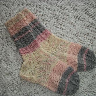 Носки вязаные из специальной носочной пряжи