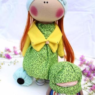 Текстильная кукла и мотанка