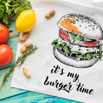 Кухонное полотенце My burger time