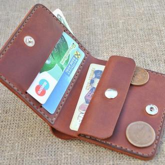 Компактный кошелек из натуральной кожи K92-210