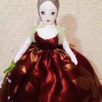 Грелка на чайник, текстильная кукла