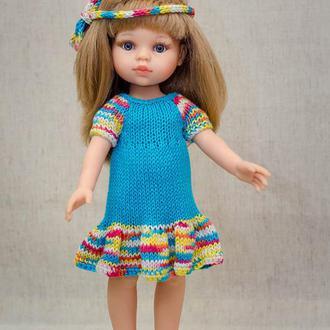 Одежда на куклу Паола Рейна 32 см, платье на куклу Паола