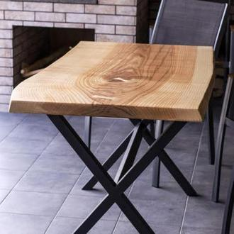 Стол кухонный loft, live edge