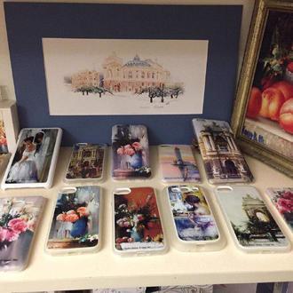 Чехлы на Samsung и iPhone с изображением авторских картин гениального художника!