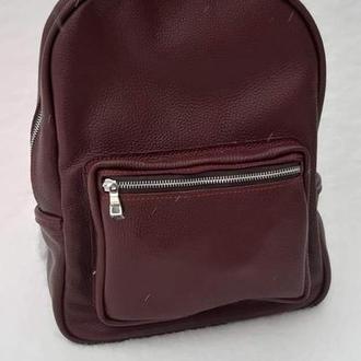 Рюкзак с подкладкой из натуральной кожи