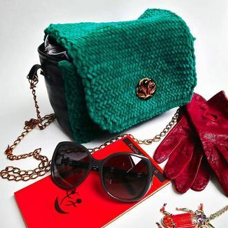 Кожаная сумка yulko