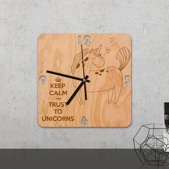 Настенные часы из древесины «Lama»