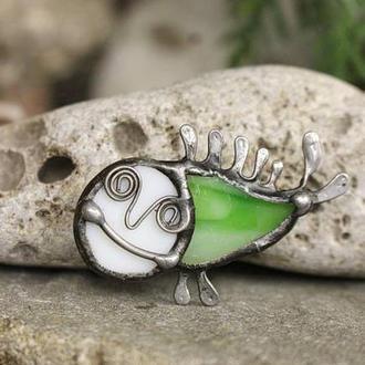 Брошь Рыба - русалка Подарок девушке