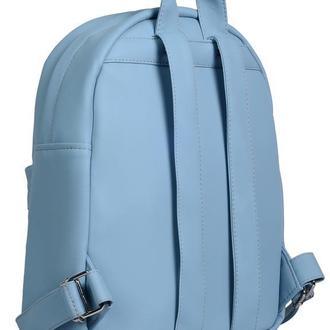 Большой женский рюкзак голубой для путешествий, учебы, спортзала