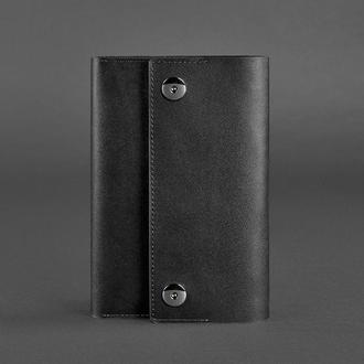 Кожаный блокнот (софт-бук) 5.0 графит