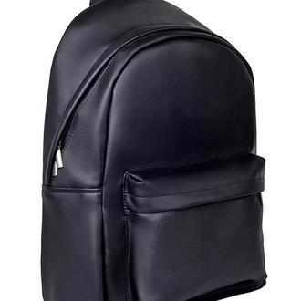 Модный удобный женский рюкзак черный