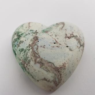 сердце из бетона, в стиле Loft,  - мультицвет