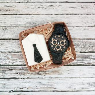"Набор мыла ""Рубашка+часы"""
