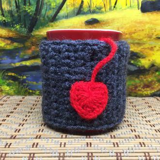 Чехол- грелка, свитер на чашку