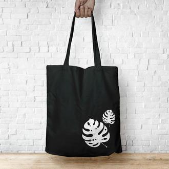 Экосумка Monstera / Эко сумка / Сумка женская / сумка-шоппер / Торба