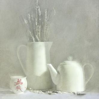 Белый натюрморт
