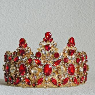 Корона Королевский красный .