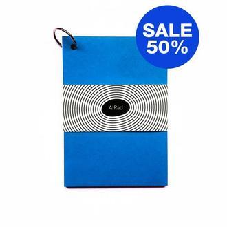 Блокнот / Скетчбук с черными листами / с чистыми листами BLUE SKETCHBOOK (RS) BLACKPAGES