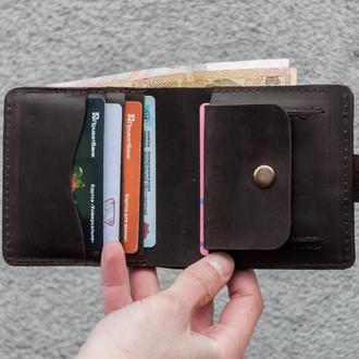 Кожаный кошелёк  Арт. 09003