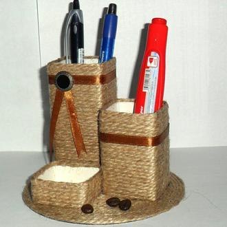 """""""Органайзер"""" - подставка для ручек и карандашей"""