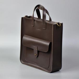 Шоппер рюкзак Flagman шоколад