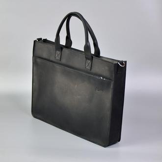 Портфель для мужчин черный