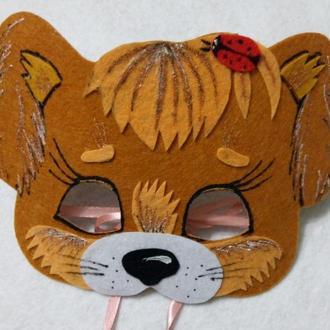 Детская маска Собачка