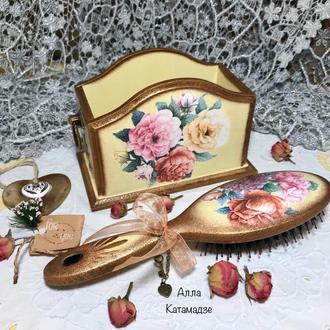 Набор для дамского столика «Винтажные розы»